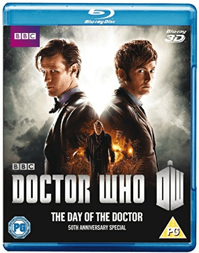 Image of Doctor Who: The Day of the Doctor - 50th Anniversary Special [Blu-ray 3D]