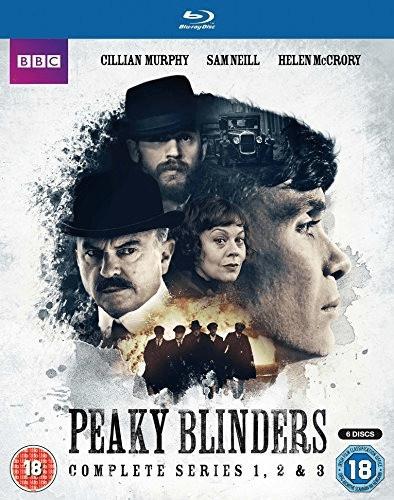 Image of Peaky Blinders - Series 1-3 Boxset [Blu-ray] [2016]