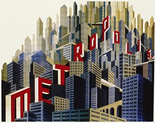 Image of Metropolis [Reconstructed & Restored] (Masters of Cinema) [Blu-ray] [1927]