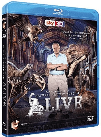 Image of David Attenborough's Natural History Museum Alive 3D (Blu-ray 3D)