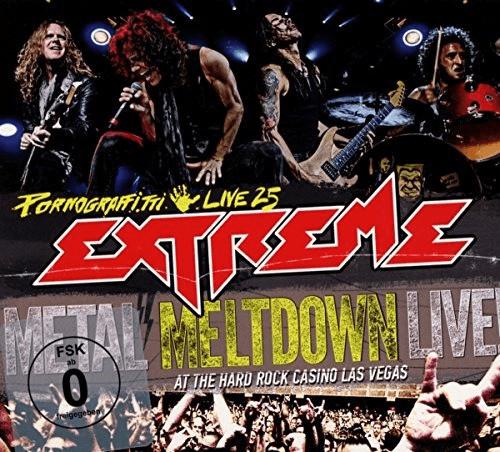 Image of Extreme: Pornograffitti Live 25 / Metal Meltdown [Blu-ray + DVD + CD] [Region Free] [2016]
