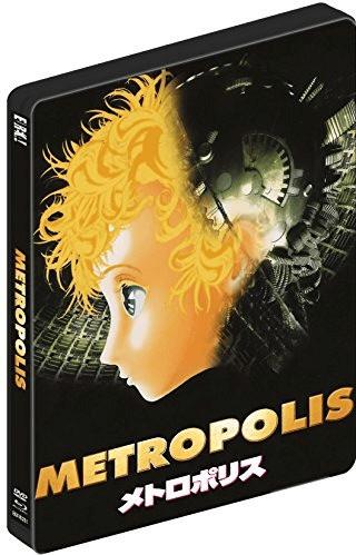 Image of OSAMU TEZUKAS METROPOLIS (Limited Edition Dual-Format) SteelBook [Blu-ray]