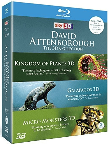 Image of David Attenborough: The 3D Collection (Blu-ray 3D)