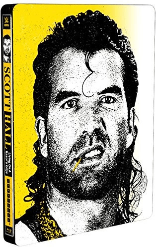Image of WWE: Scott Hall - Living On A Razor's Edge - Limited Edition Steelbook [Blu-ray]