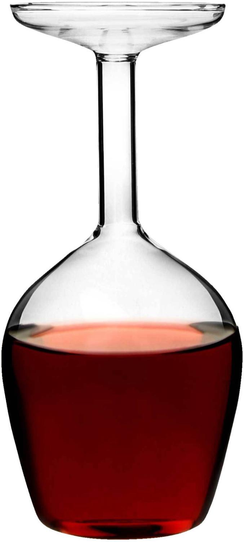 MAGS Verkehrtes Weinglas