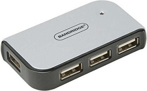 Image of Bandridge 4Port USB 2.0Hub (BCP4104EC)