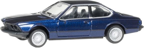 Herpa BMW 635 CSi, alpin blau metallic (038683)