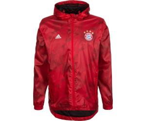 adidas Bayern Munich 3S Windbreaker Jacket Navy