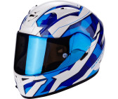 Bleu//Blanc//Rouge S SCORPION Casque moto EXO 710 AIR Mugello Bleu Blanc