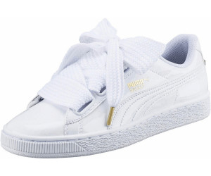Buy Puma Basket Heart Patent from £24.31 – Best Deals on idealo.co.uk f6046a2ae