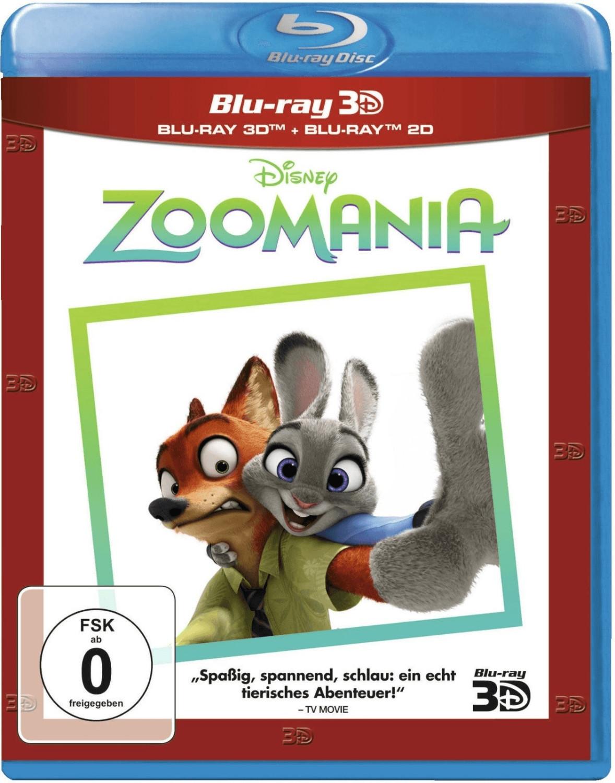 Zoomania (3D) [Blu-ray]