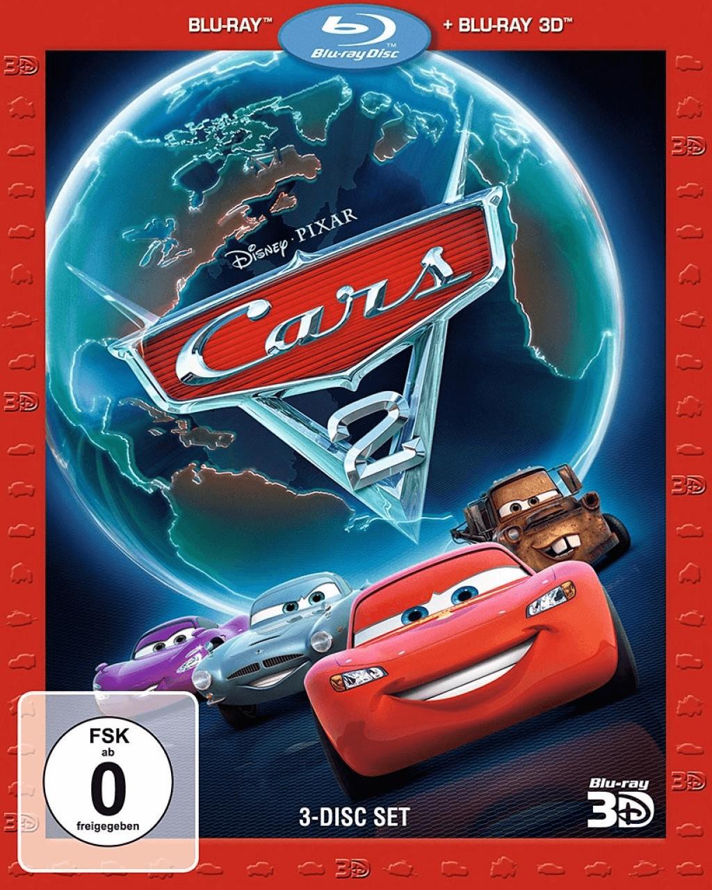 Cars 2 3D (+2D) [Blu-ray]