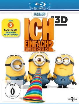 Ich - Einfach unverbesserlich 2 3D [Blu-ray]
