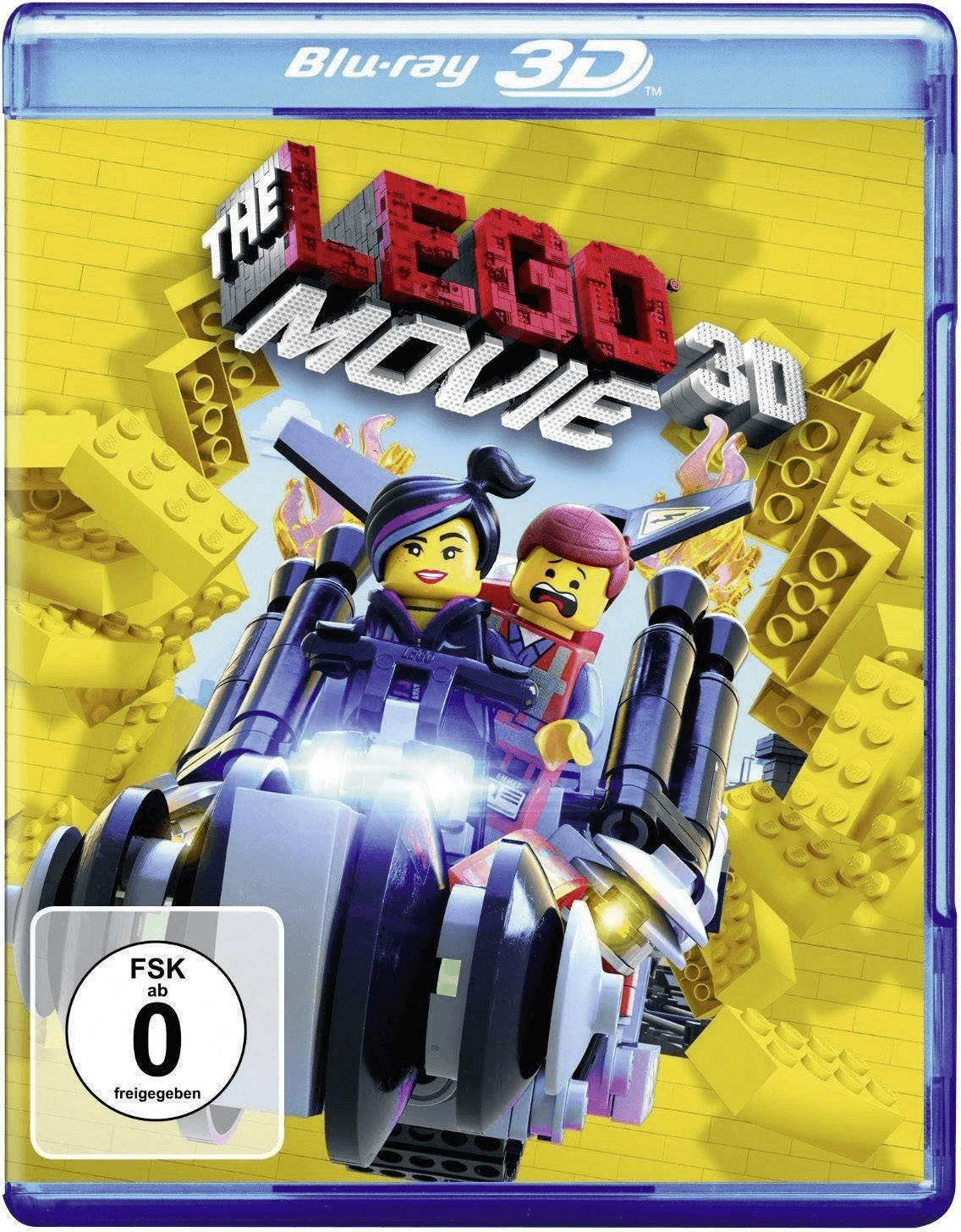 The LEGO Movie 3D (+2D) [Blu-ray]