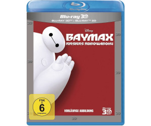 Baymax - Riesiges Robowabohu (3D) [Blu-ray]