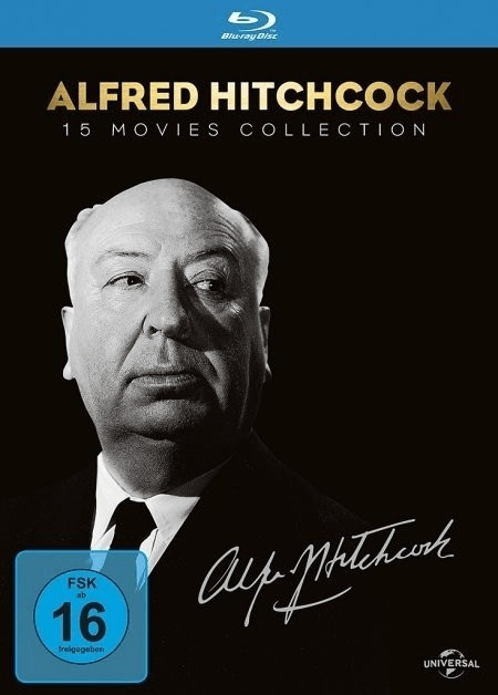 #Alfred Hitchcock 15 Movies Collection [Blu-ray]#