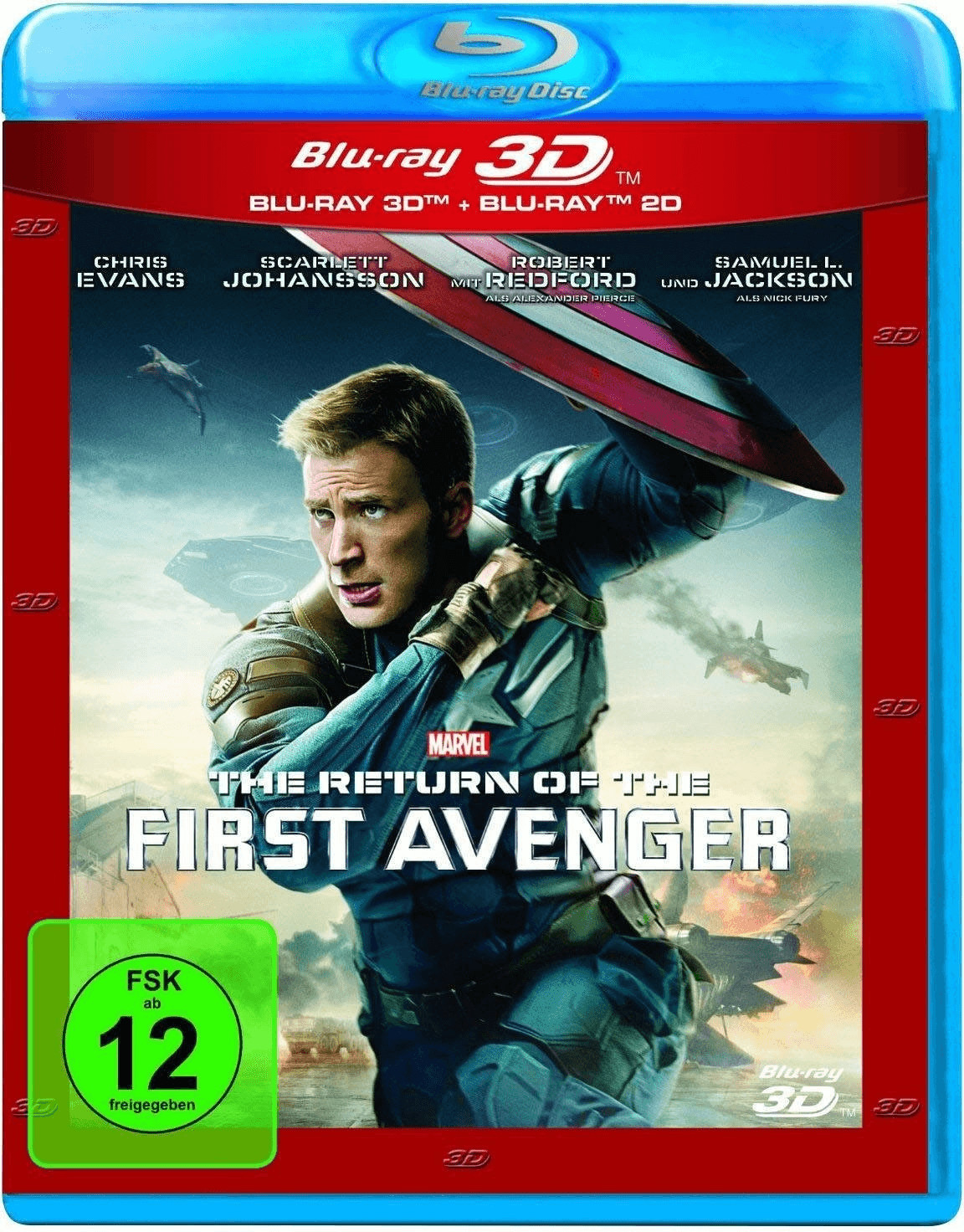 The Return of the First Avenger 3D (+2D) [Blu-ray]