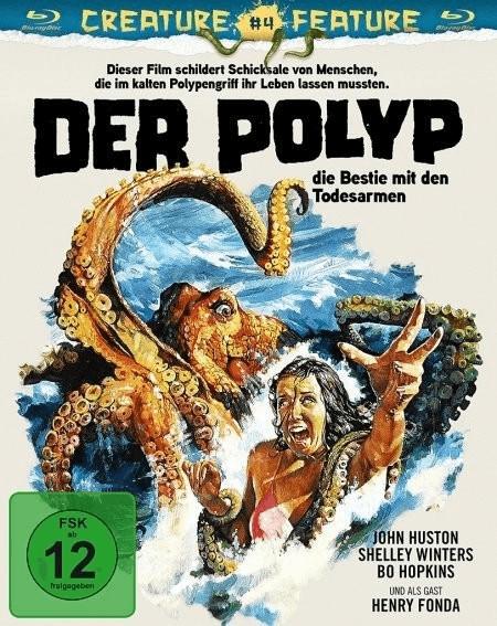 Image of Der Polyp - Die Bestie mit den Todesarmen (Creature Feature Collection #4)