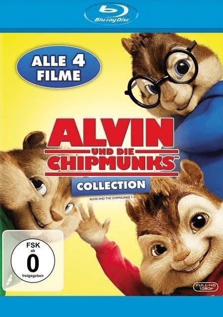 Image of Alvin und die Chipmunks Collection (Teil 1-4)