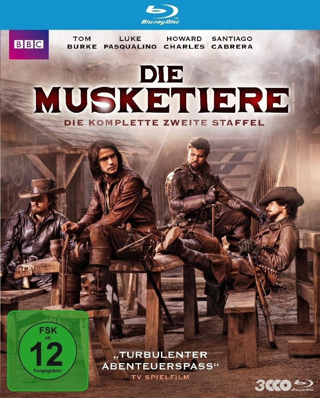 Die Musketiere - Die komplette 2. Staffel