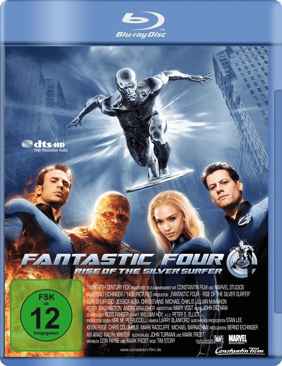 Image of Fantastic 4: Rise of the Silver Surfer
