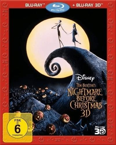 Nightmare Before Christmas (3D) [Blu-ray]