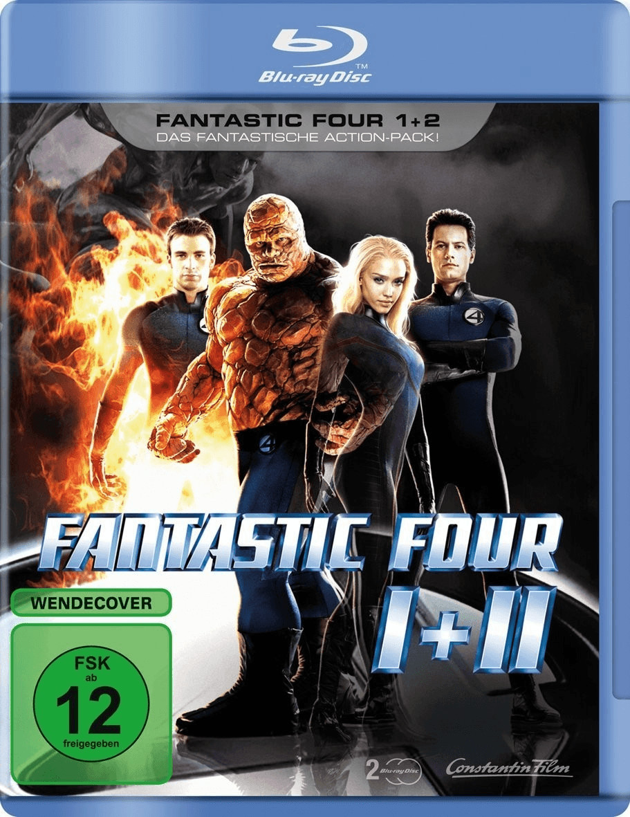 Image of Fantastic Four 1+2