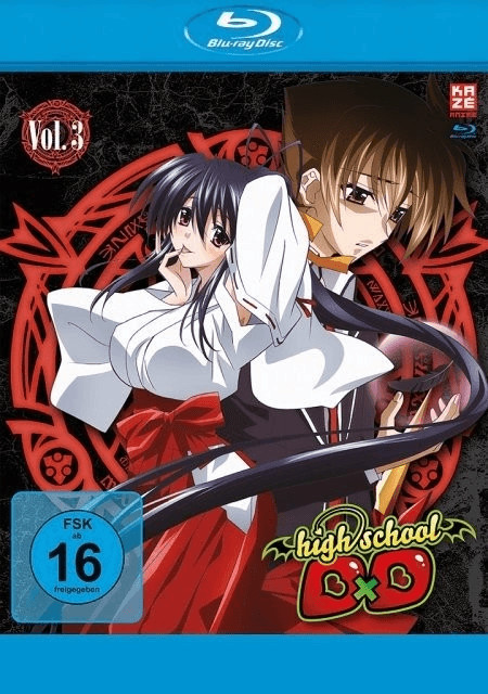 Highschool DxD - Vol. 3 [Blu-ray]