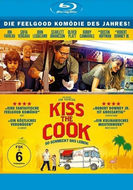 Kiss the Cook - So schmeckt das Leben! [Blu-ray]