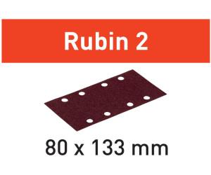 Festool Schleifstreifen Rubin STF 80x133 P40-P400 Rutscher RTS 400 RU2 StickFix