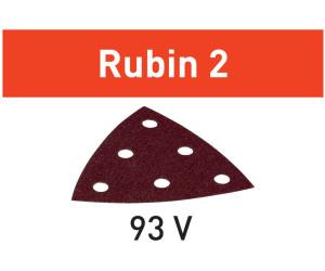 50 Festool Delta-pierres rubin 2 v93 6-trou p40-p220 499161-499168 bois