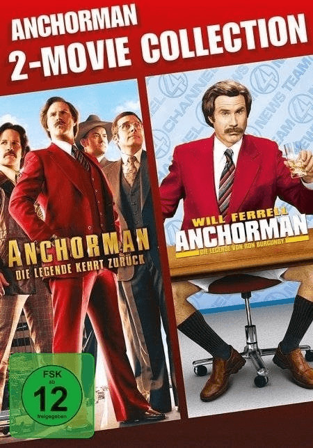 Anchorman 2-Movie Collection [DVD]