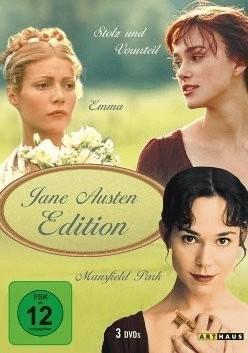 Jane Austen Edition: Emma / Stolz und Vorurteil / Mansfield Park [DVD]