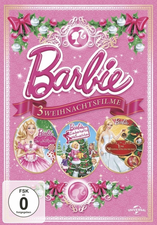 Barbie: Weihnachtsfilme (Der Nußknacker / Zauberhafte Weihnachten / Eine Weihnachtsgeschichte) [DVD]