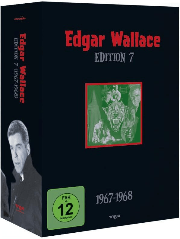 Edgar Wallace Edition 7 (1967-1968) [DVD]