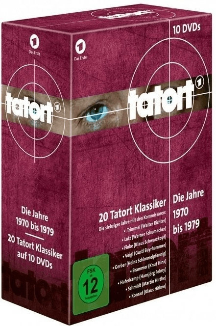 Tatort 70er Komplett-Box (1970-1979) [DVD]