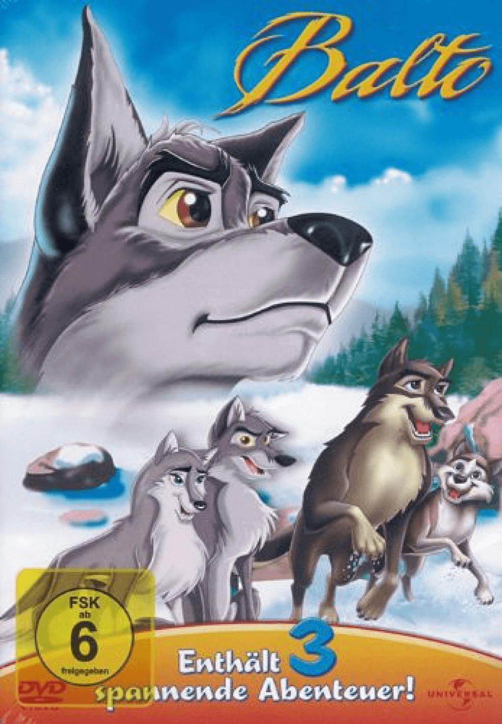 Balto 1-3 [DVD]
