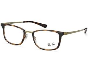 RAY BAN RAY-BAN Herren Brille » RX6373M«, braun, 2923 - braun