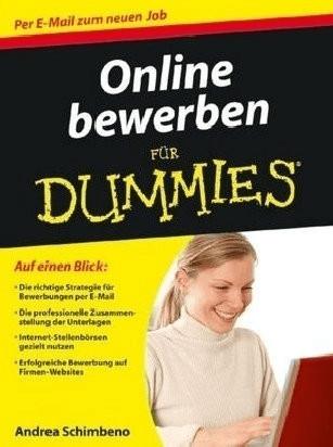 Online bewerben für Dummies (Schimbeno, Andrea)