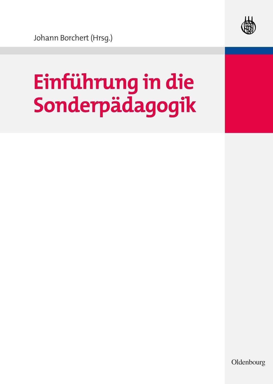 Einführung in die Sonderpädagogik [Gebundene Au...