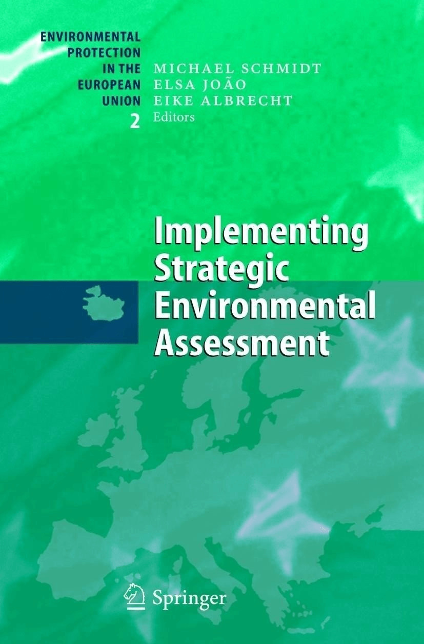 Implementing Strategic Environmental Assessment [Gebundene Ausgabe]