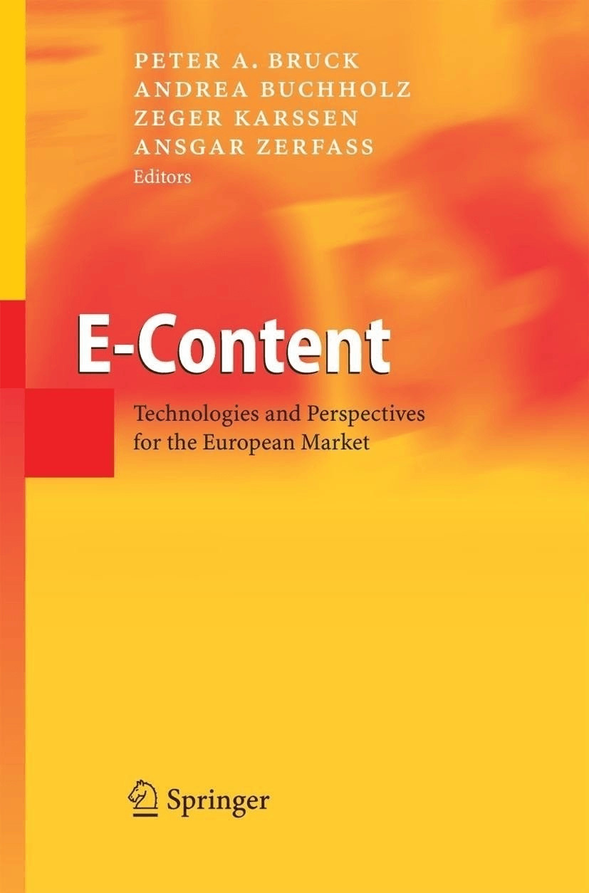 E-Content [Gebundene Ausgabe]
