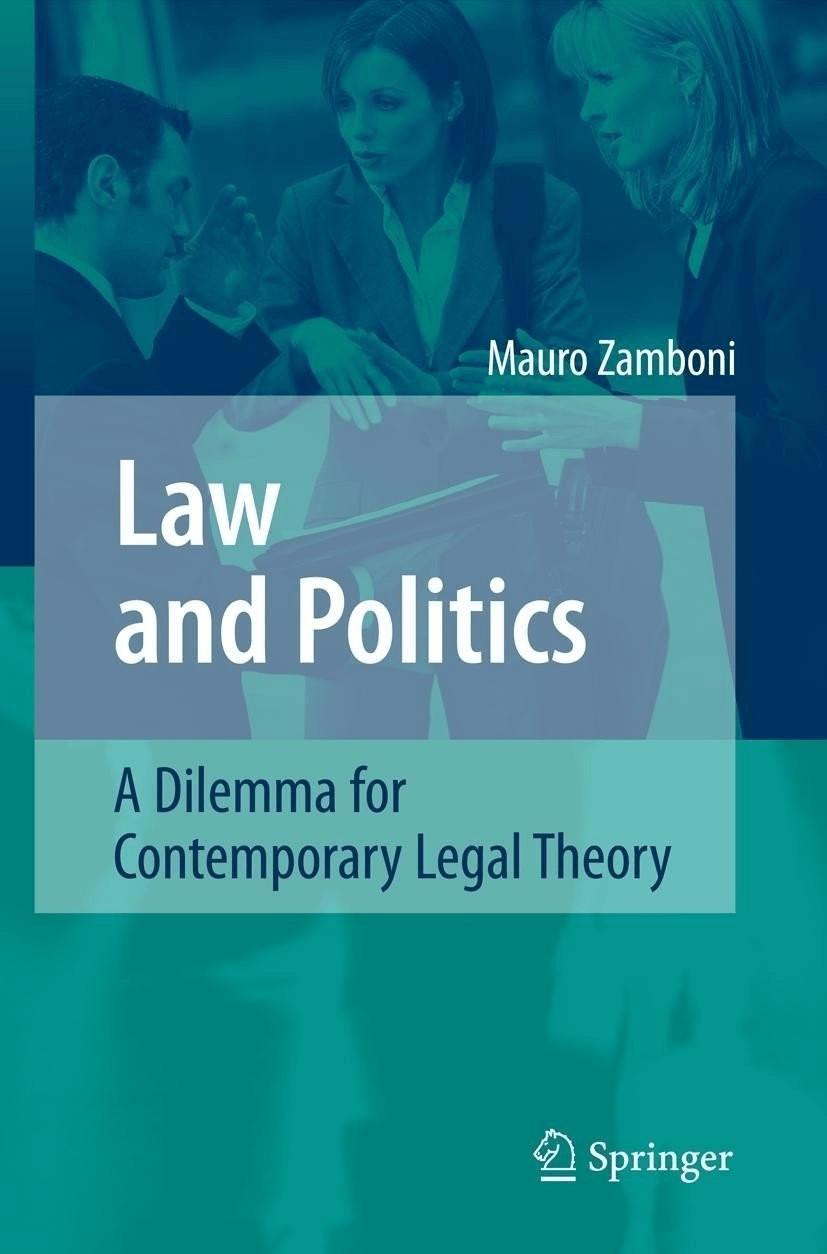#Law and Politics (Zamboni, Mauro) [Gebundene Ausgabe]#