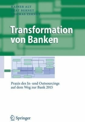 Transformation von Banken (Alt, Rainer Bernet, ...