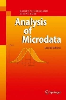 #Analysis of Microdata (Winkelmann, Rainer Boes, Stefan) [Gebundene Ausgabe]#