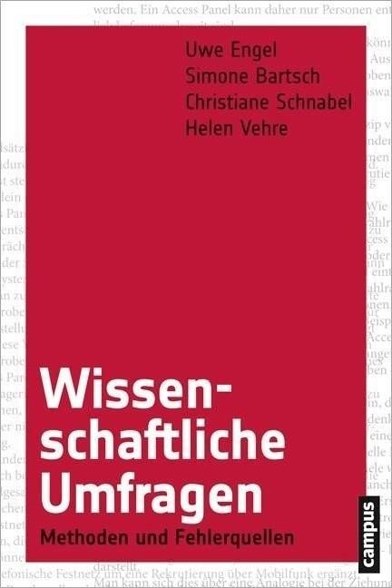 Wissenschaftliche Umfragen (Engel, Uwe Bartsch,...