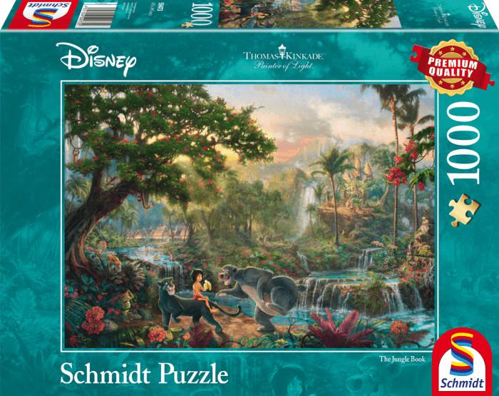 Schmidt-Spiele Thomas Kinkade: Disney Das Dschungelbuch