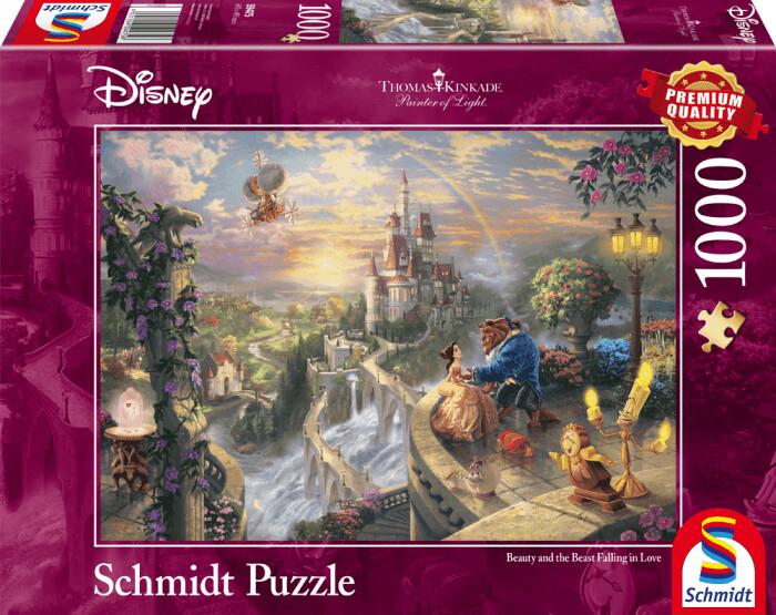 Schmidt-Spiele Thomas Kinkade: Disney Die Schöne und das Biest