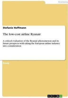 The low-cost airline Ryanair (Hoffmann, Stefanie)