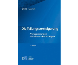 Die Teilungsversteigerung (Hamme, Gerd)